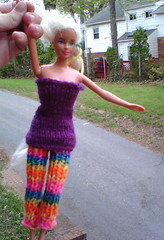 Barbie, dressed in knitwear by Jana, grade 6