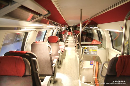 Swiss train interior