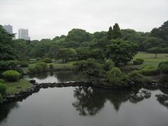 Vue du jardin traditionnel