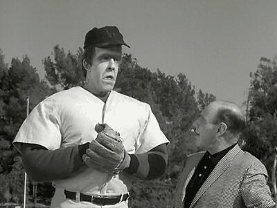 Herman Munster and Baseball Monster