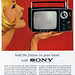 1960's Advertising - Magazine Ad - Sony (USA)