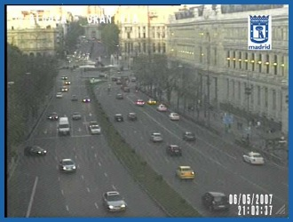 Widget Camaras trafico Madrid
