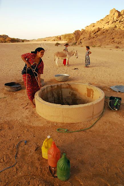 撒哈拉里的水