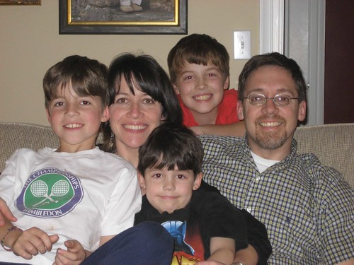 Laura & Lee Camp with their boys
