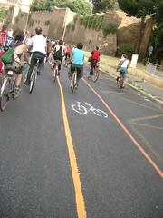 Una nuova pista ciclabile