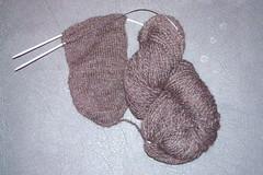 Socks from Fluff WIP