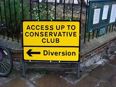 Diversionary tactics