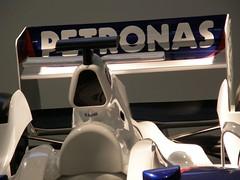 37.BMW F1.07的尾翼