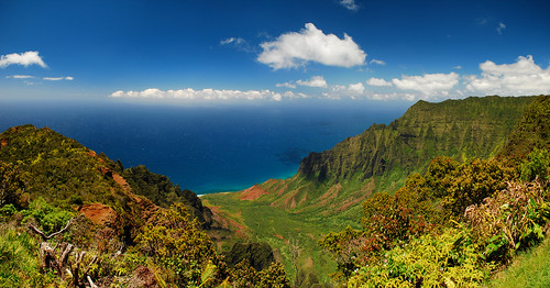 Kalalau Lookout Panorama