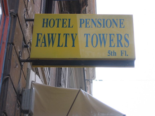 Hotel/Pensione Fawlty Towers