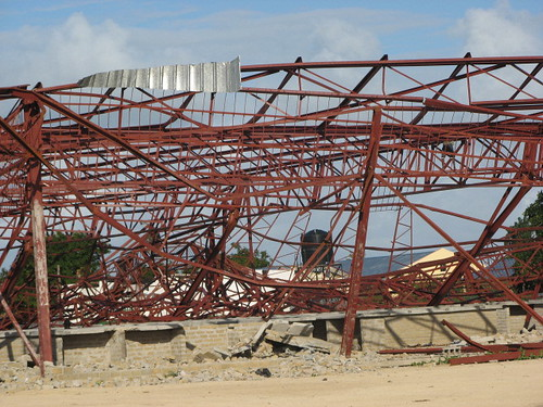 Cyclone damage, Vilanculos.