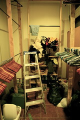 the backroom actualy got emptied... i know, its tough to believe