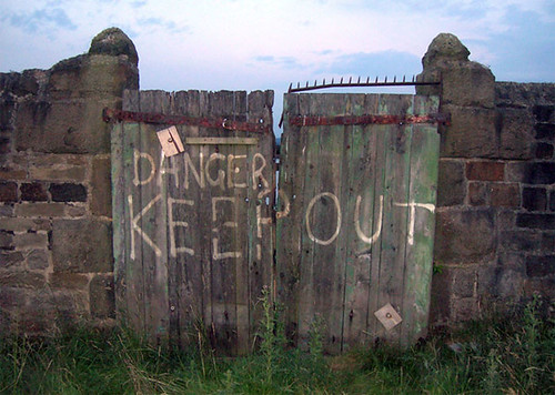 keep out by timsnell