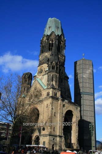 Kaiser Wilhelm Memorial Church in Berlin