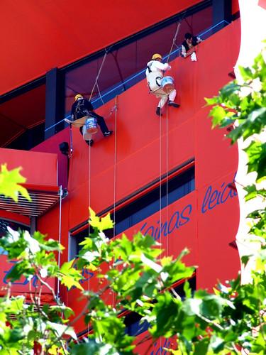 Limpiadores (Hotel Puerta América, Madrid)