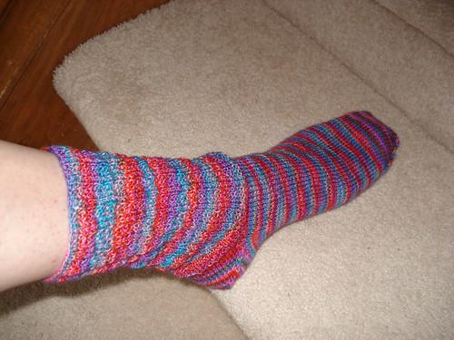 Yarn Pirate Sock #1
