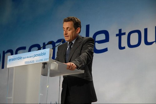 Nicolas Sarkozy - Meeting in Toulouse for the 2007 French presidential election 0297 2007-04-12