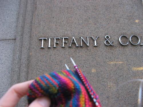 Knitting at Tiffany's