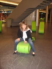 Martina im Einkaufszentrum Sihlcity