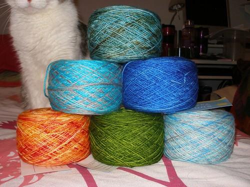 some sock yarn
