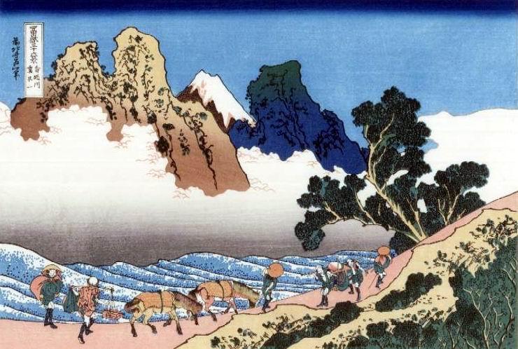 Minobu-gawa ura Fuji