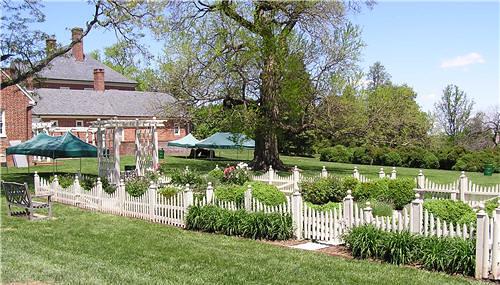 Montpelier Mansion Garden