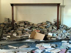 """photo: """"Abandoned books"""" by nathansnider, via Flickr"""