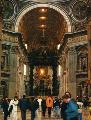 St Peter's Basilica 24 Mar 1997