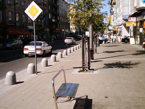 Świętojańska street - Gdynia, Poland
