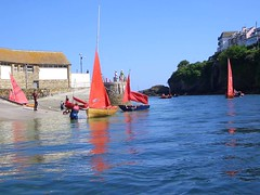 Sailing Boats at Looe