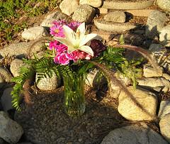 Mixed Colors Vase