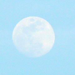 Moon over Santa Cruz