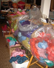 lots and lots of yarn
