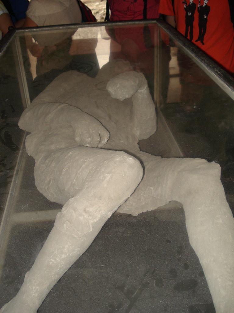 molde de pompeyano calcinado