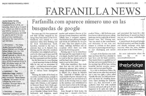 Farfanilla Newspaper
