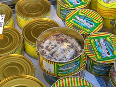 Salted anchovies - acciughe sotto sale