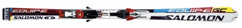 Salomon, Equipe, GC Race, 2008, Race Carver, High Performance, Piste, Advanced, Expert, Skis