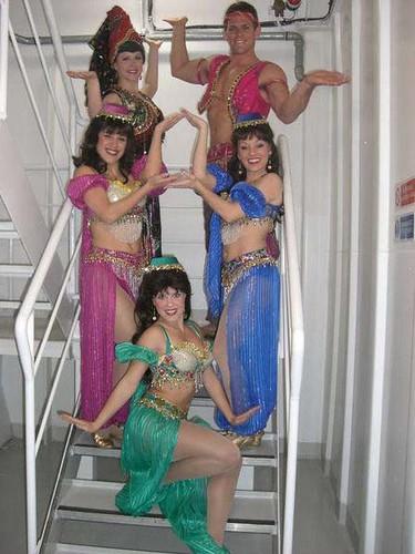 Aladdin Show on Disney Cruise Ship The Wonder
