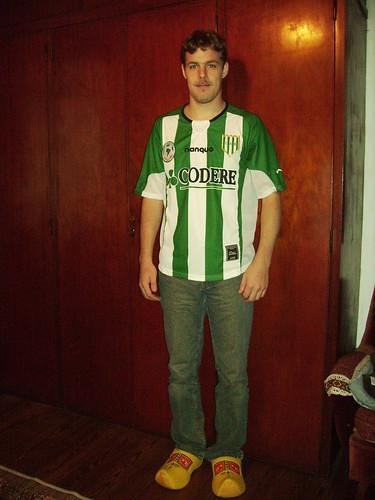 Shirt van Banfield Copa Libertadores 2007