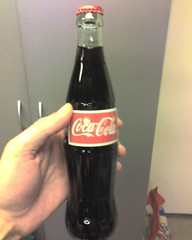 Mexican Coke.  Made with real cane sugar inste...