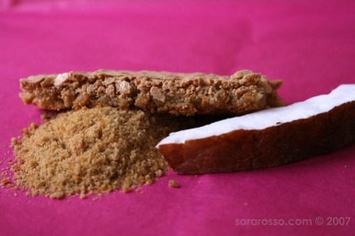 Meringue-Macaron with Bio Cane Sugar
