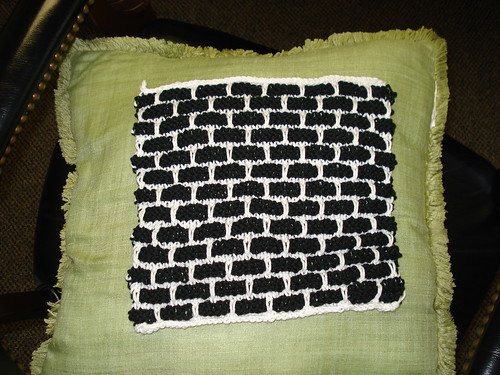 Black and White Dishcloth