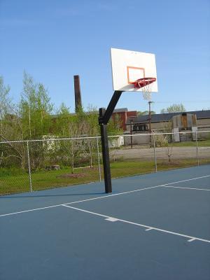 Half court press