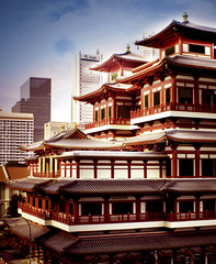 The Buddha Tooth Relic Temple