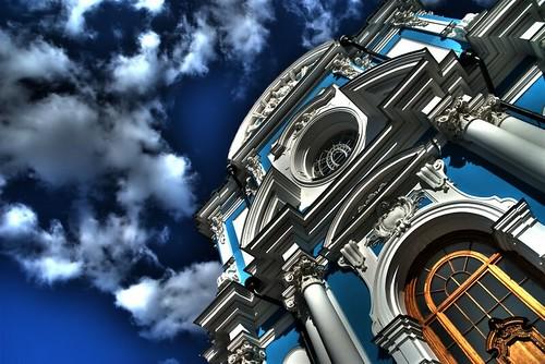 Smolniy Cathedral, Saint-Petersburg
