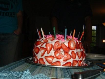 Side Cake Shot