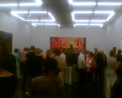 Ausstellungseröffnung Daniel Richter