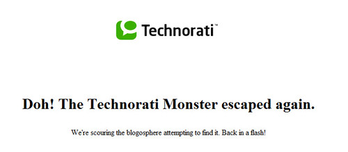 error en technorati