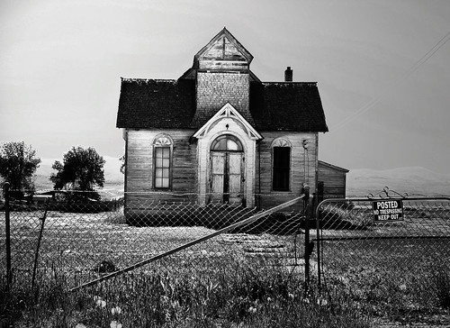 Weathered:  Paris, Idaho, 2