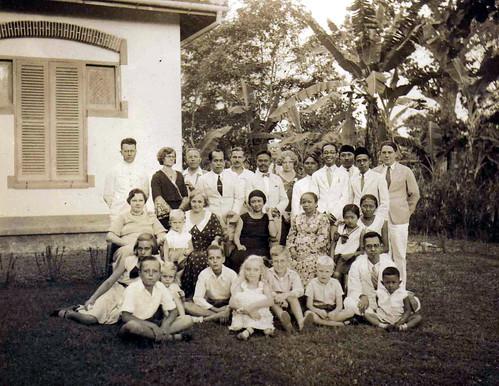 familie in nederlandsch indie